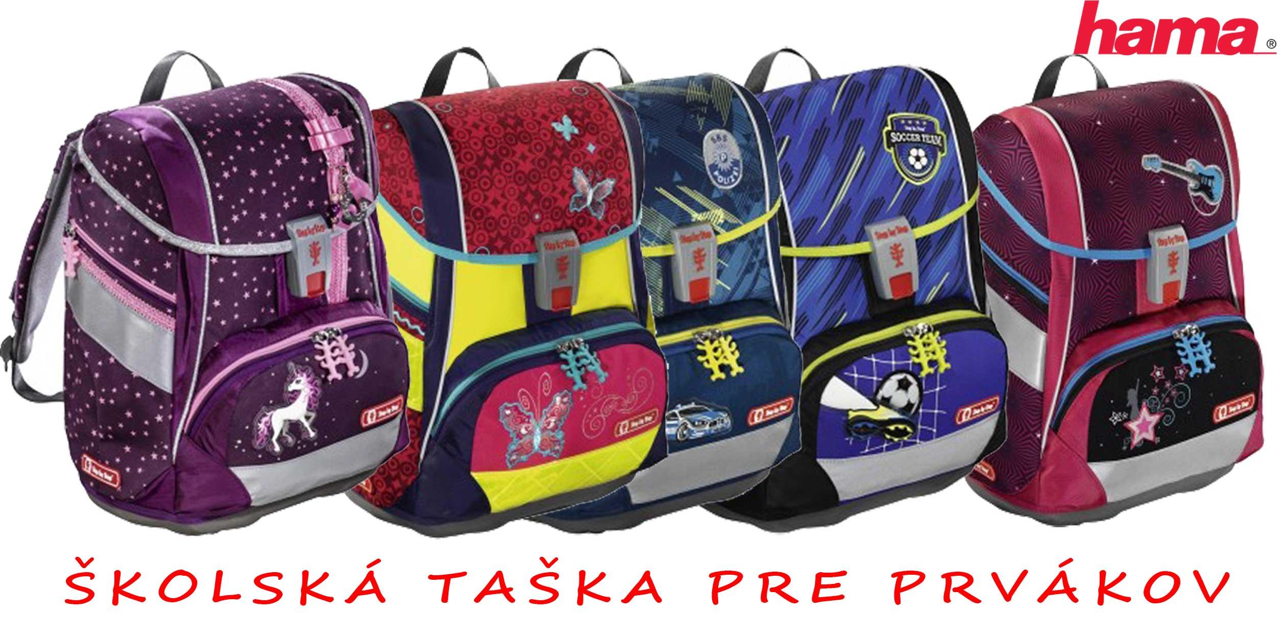 873934a979 Školská taška pre prvákov sety