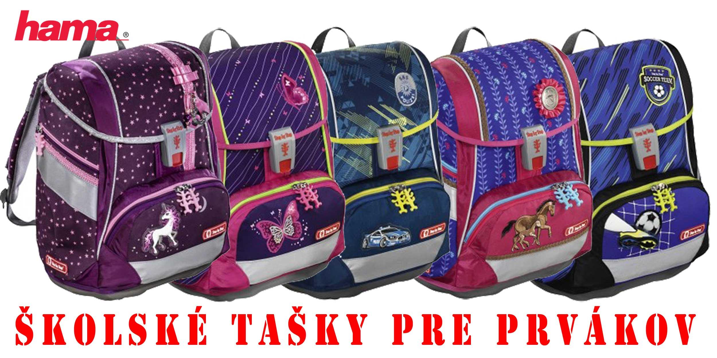 19122ed956 Školské tašky pre prvákov sety